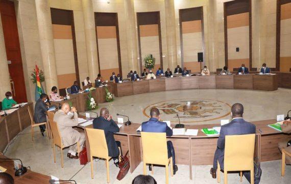 Togo: intégralité du communiqué du conseil des ministres de ce 4 novembre 2020.