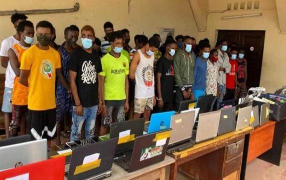 Togo: 38 cybercriminels dans les mailles de la police.