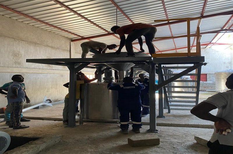 Togo: une usine de transformation du manioc en cours d'installation à Atakpamé.