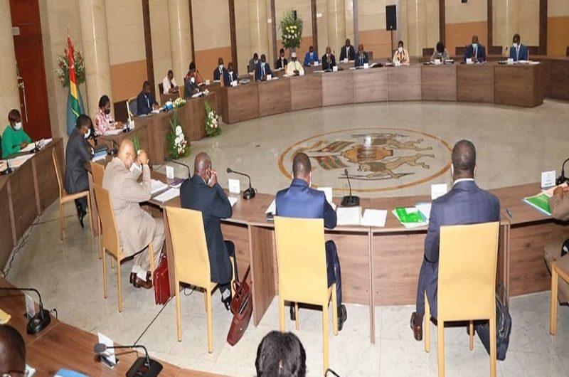 Togo: l'intégralité du communiqué du conseil des ministres du 9 décembre.