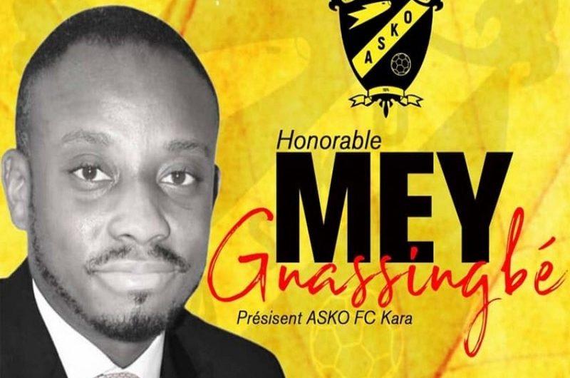 Togo: l'honorable Mey Gnassingbé, élu président de ASKO de Kara, annonce les ambitions de son bureau.