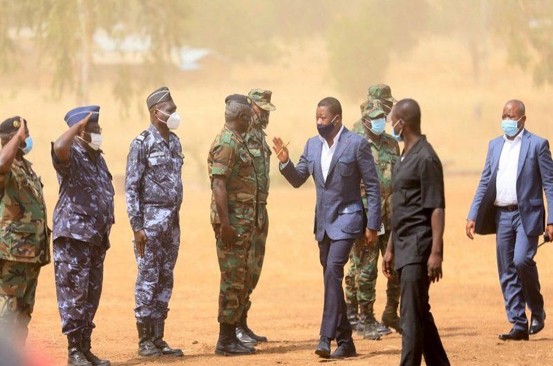 Togo: Faure Gnassingbé au contact de l'armée en première ligne dans la riposte contre la menace terroriste.