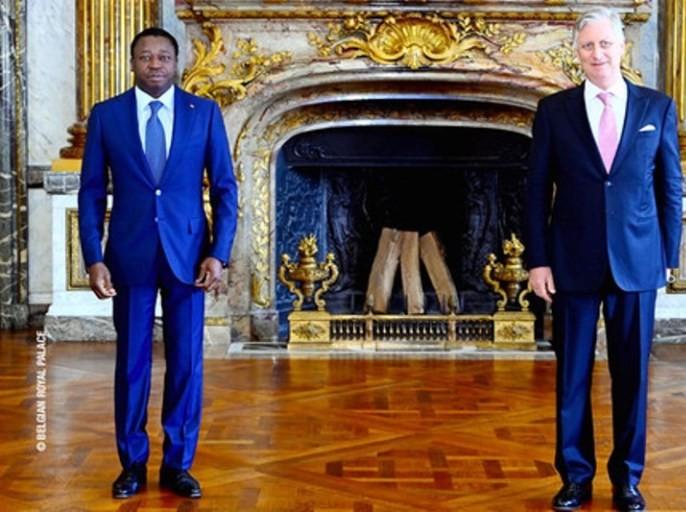 Togo: Faure Gnassingbé reçu par le roi Philippe de Belgique.