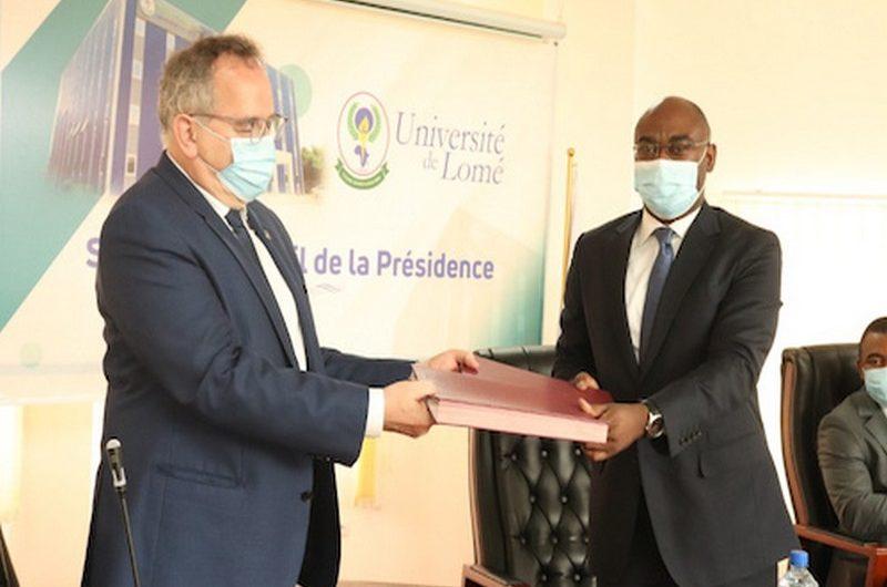 Togo: les Universités de Lomé et de la Sorbonne signent une convention de partenariat.