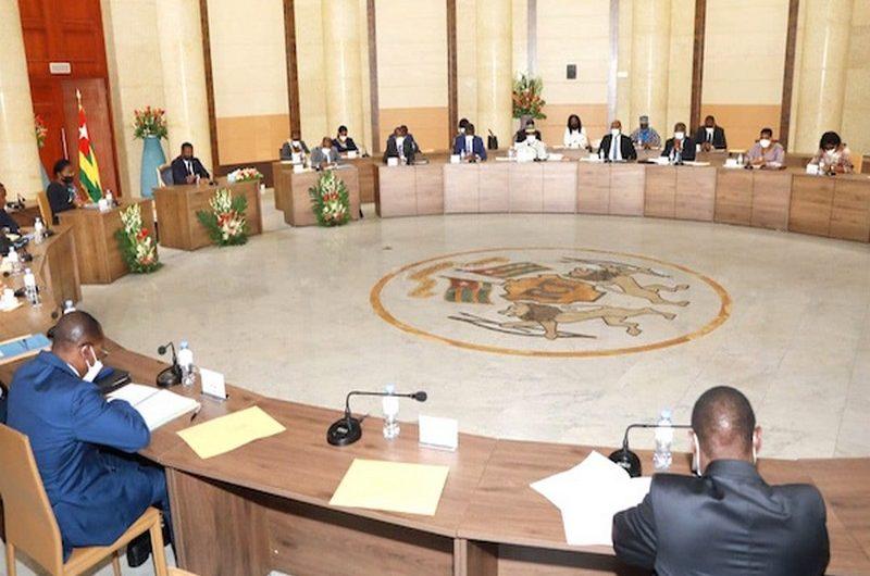 Togo: les grandes décisions du conseil des ministres du 16 juin 2021.