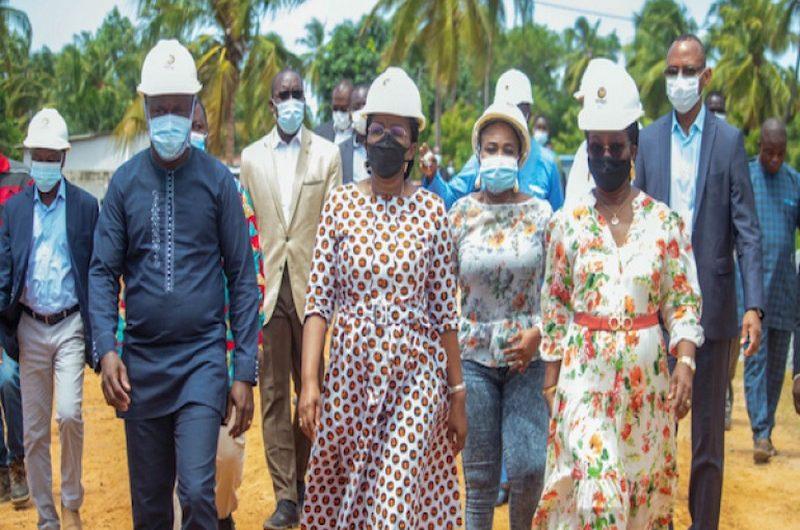 Togo/Route Lomé-Aného:  Victoire Dogbé met la pression.