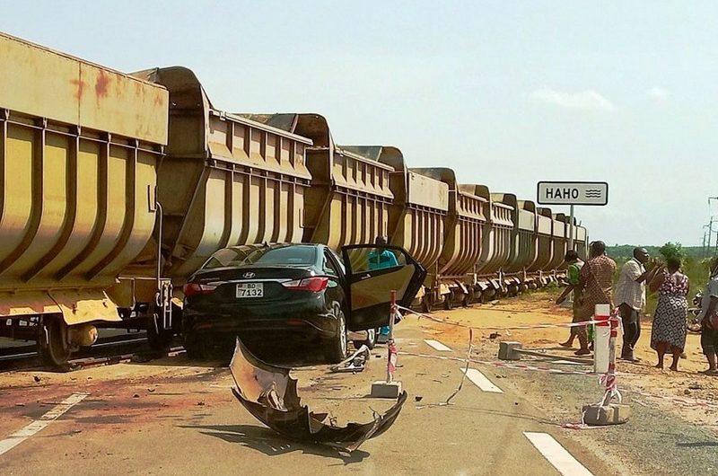 Togo: collision entre un train et un véhicule à Hahotoé.