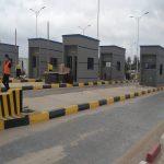 Togo: le poste de péage (Lomé-Vogan) ouvert.